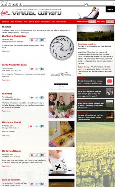 Virgin Virtual Wineries Blog Page