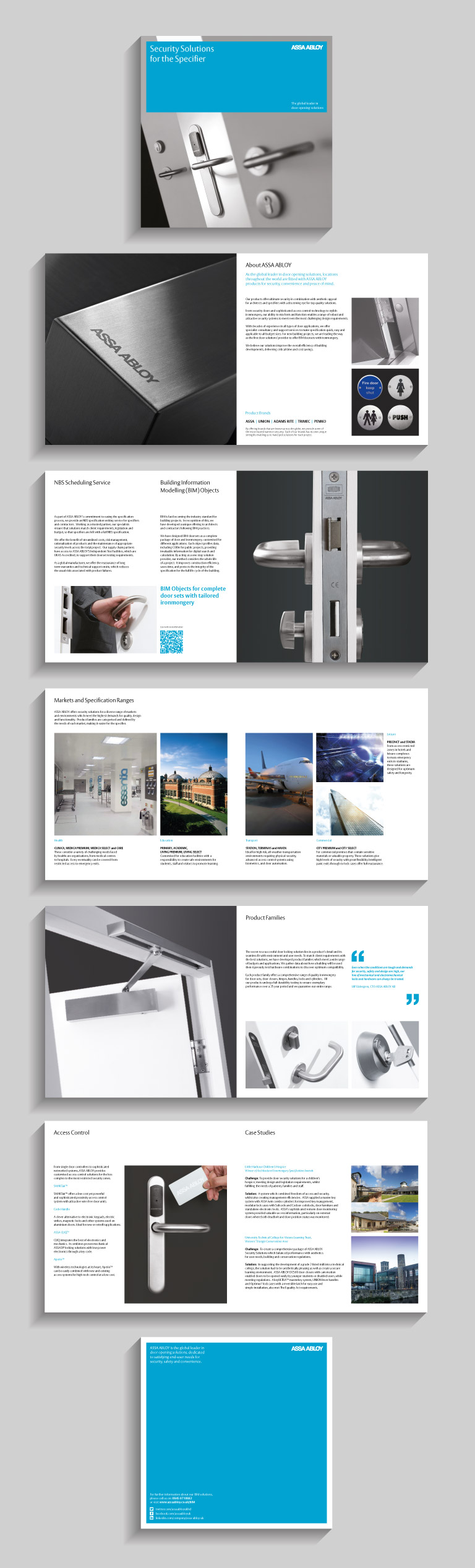 Pages from the ASSA ABLOY brochure - mobile