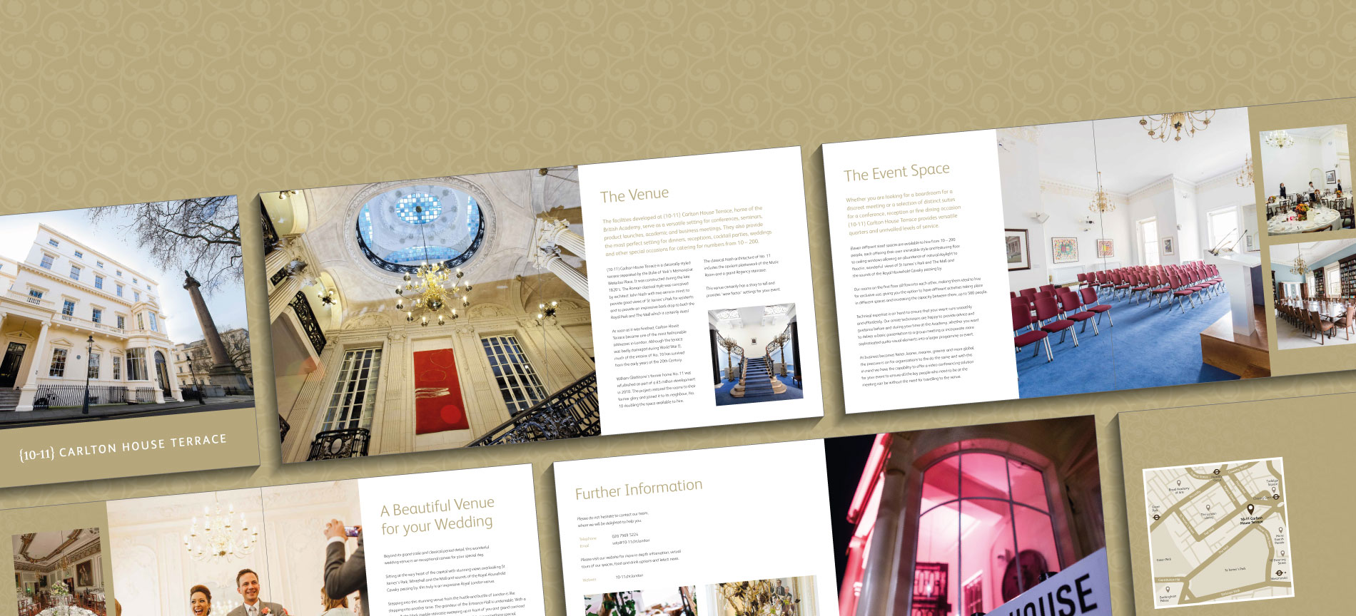 The 10-11 Carlton House Terrace wedding brochure - desktop