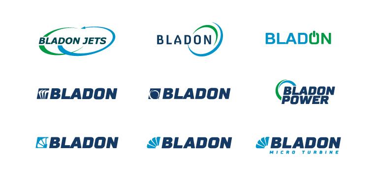Bladon logo concepts - mobile