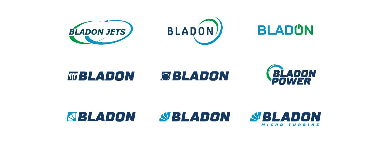 Bladon logo concepts - desktop