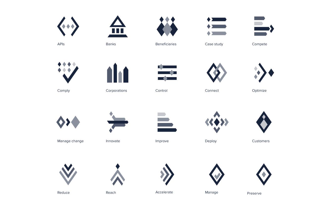 Bespoke set of icons for Volante - desktop
