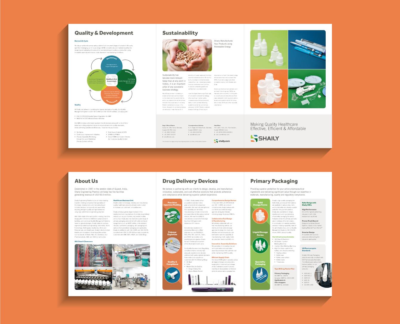 Shaily brochure - desktop
