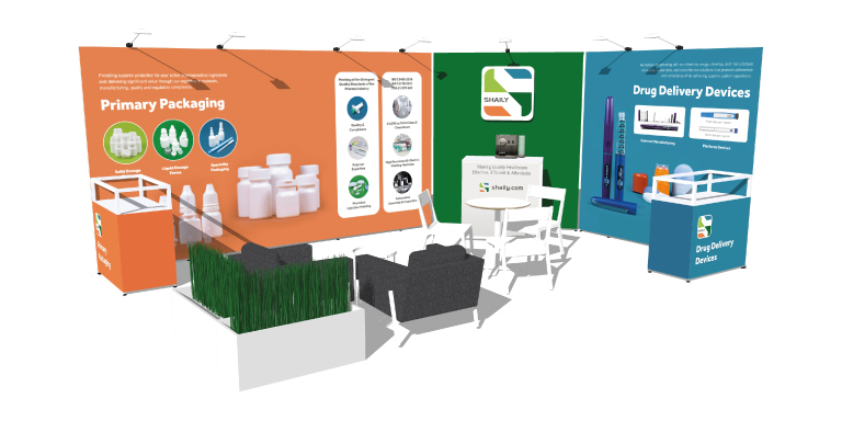 Shaily exhibition stand - mobile