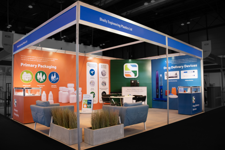 Shaily exhibition stand in Madrid - mobile