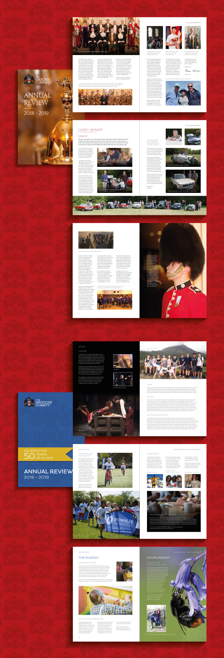 Grocers' Hall Annual Review - mobile