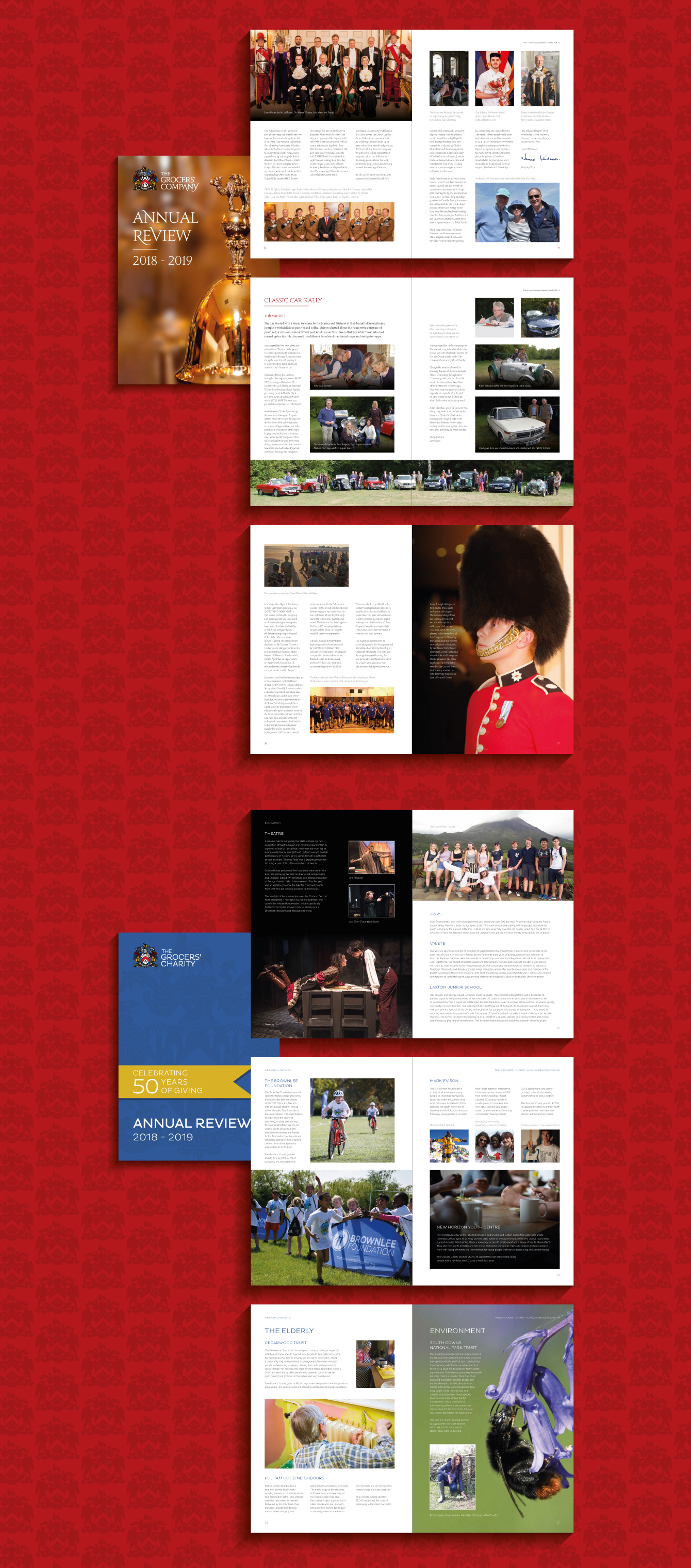 Grocers' Hall Annual Review - desktop