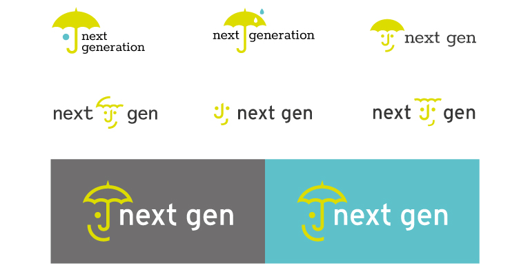 Next Gen logo concepts - mobile