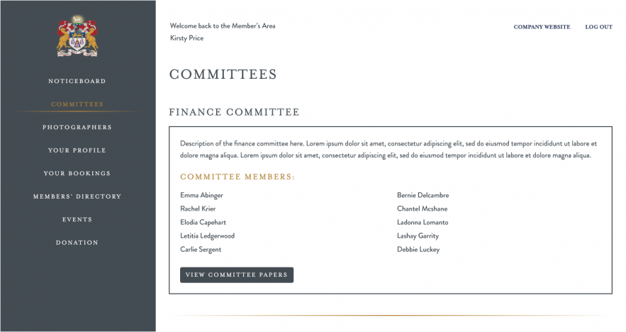 committees - desktop